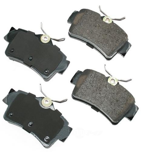 AKEBONO - ProACT Ultra Premium Ceramic Pads (Rear) - AKB ACT627