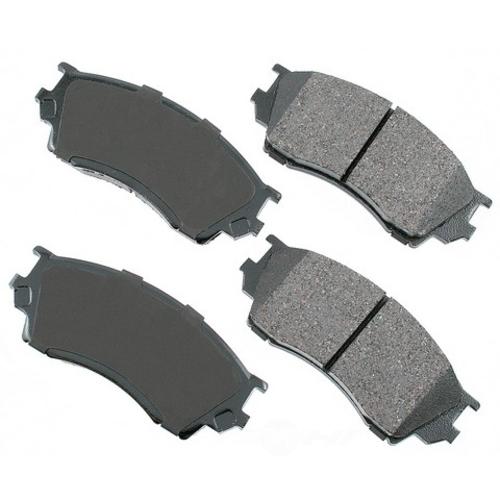 AKEBONO - ProACT Ultra Premium Ceramic Pads (Front) - AKB ACT643