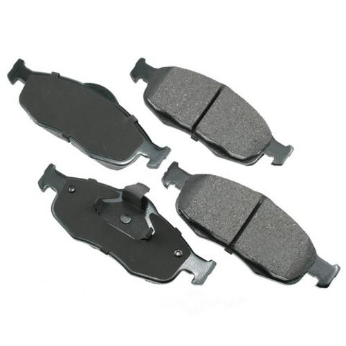 AKEBONO - ProACT Ultra Premium Ceramic Pads (Front) - AKB ACT648