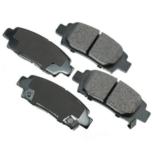 AKEBONO - ProACT Ultra Premium Ceramic Pads - AKB ACT672