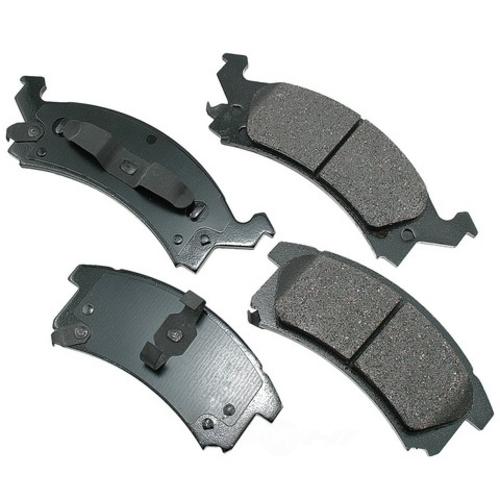 AKEBONO - ProACT Ultra Premium Ceramic Pads (Front) - AKB ACT673