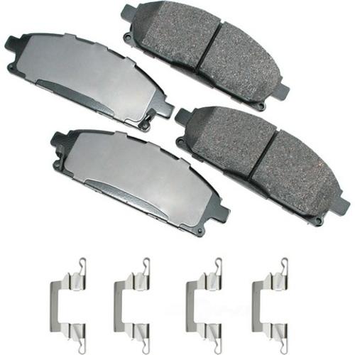 AKEBONO - ProACT Ultra Premium Ceramic Pads (Front) - AKB ACT691A