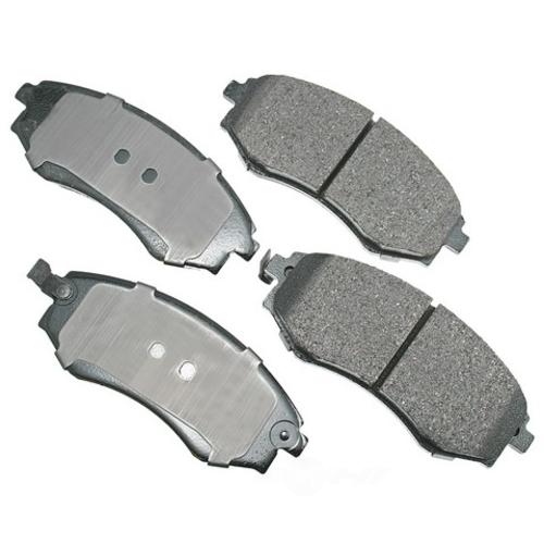 AKEBONO - ProACT Ultra Premium Ceramic Pads (Front) - AKB ACT700