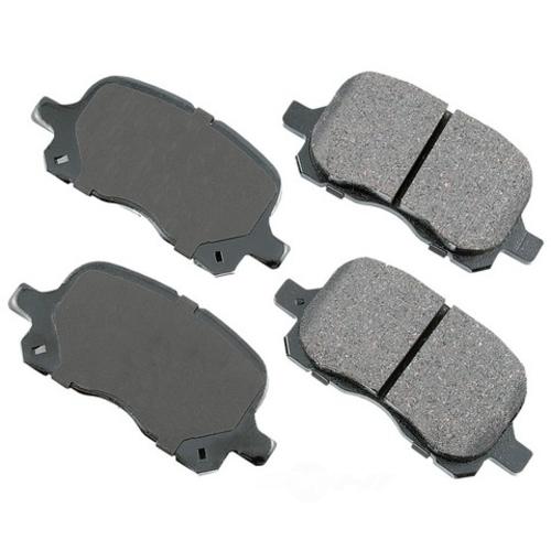 AKEBONO - ProACT Ultra Premium Ceramic Pads (Front) - AKB ACT741