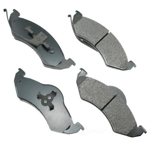 AKEBONO - ProACT Ultra Premium Ceramic Pads (Front) - AKB ACT746