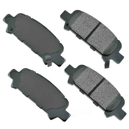 AKEBONO - ProACT Ultra Premium Ceramic Pads (Rear) - AKB ACT770