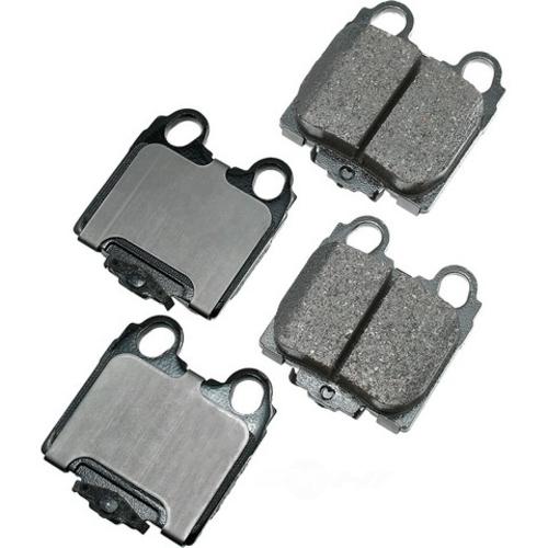 AKEBONO - ProACT Ultra Premium Ceramic Pads (Rear) - AKB ACT771