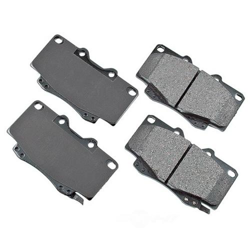 AKEBONO - ProACT Ultra Premium Ceramic Pads (Front) - AKB ACT799