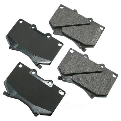 AKEBONO - ProACT Ultra Premium Ceramic Pads (Front) - AKB ACT812