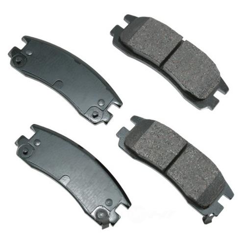 AKEBONO - ProACT Ultra Premium Ceramic Pads (Rear) - AKB ACT814