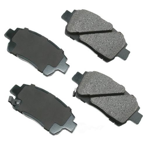 AKEBONO - ProACT Ultra Premium Ceramic Pads (Front) - AKB ACT822