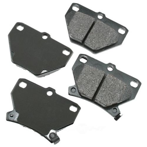 AKEBONO - ProACT Ultra Premium Ceramic Pads - AKB ACT823