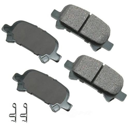 AKEBONO - ProACT Ultra Premium Ceramic Pads (Rear) - AKB ACT828