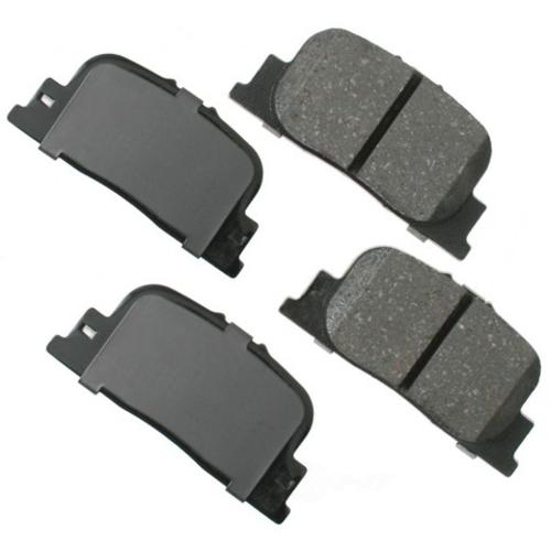 AKEBONO - ProACT Ultra Premium Ceramic Pads (Rear) - AKB ACT835
