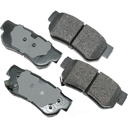 AKEBONO - ProACT Ultra Premium Ceramic Pads (Rear) - AKB ACT863