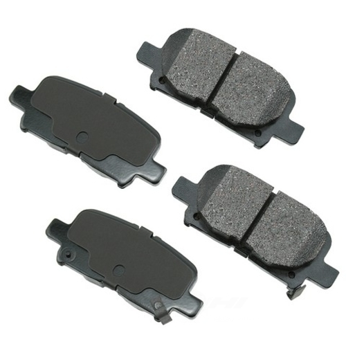 AKEBONO - ProACT Ultra Premium Ceramic Pads (Rear) - AKB ACT865