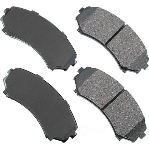 AKEBONO - ProACT Ultra Premium Ceramic Pads (Front) - AKB ACT867