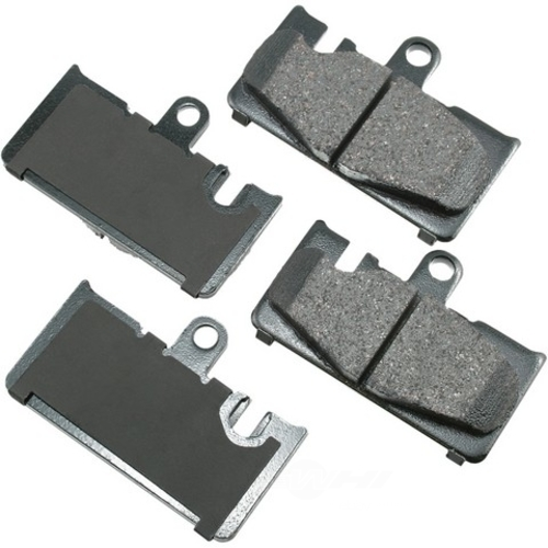 AKEBONO - ProACT Ultra Premium Ceramic Pads (Rear) - AKB ACT871