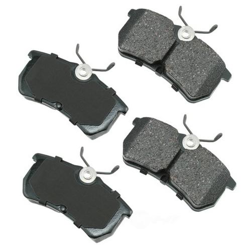 AKEBONO - ProACT Ultra Premium Ceramic Pads (Rear) - AKB ACT886