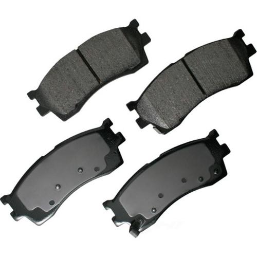 AKEBONO - ProACT Ultra Premium Ceramic Pads (Front) - AKB ACT889