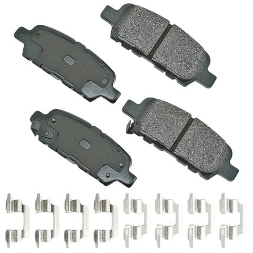 AKEBONO - ProACT Ultra Premium Ceramic Pads (Rear) - AKB ACT905A