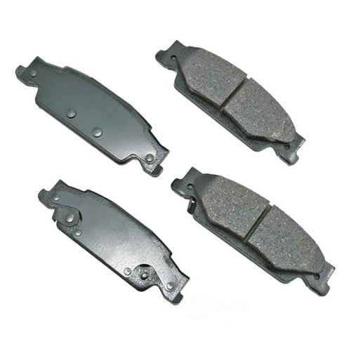 AKEBONO - ProACT Ultra Premium Ceramic Pads (Rear) - AKB ACT922