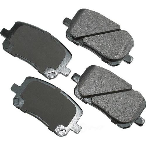 AKEBONO - ProACT Ultra Premium Ceramic Pads - AKB ACT923