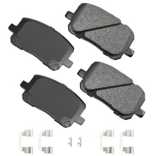 AKEBONO - ProACT Ultra Premium Ceramic Pads - AKB ACT923A