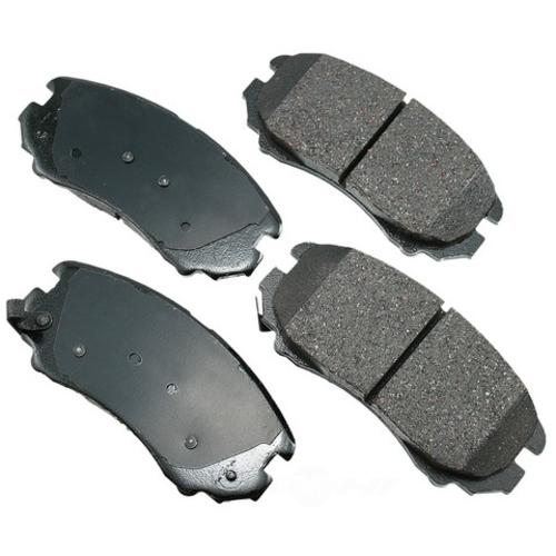 AKEBONO - ProACT Ultra Premium Ceramic Pads (Front) - AKB ACT924