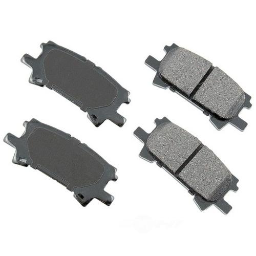 AKEBONO - ProACT Ultra Premium Ceramic Pads (Rear) - AKB ACT996