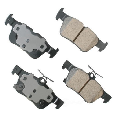 AKEBONO - Performance Ultra Premium Ceramic Pads (Rear) - AKB ASP1665