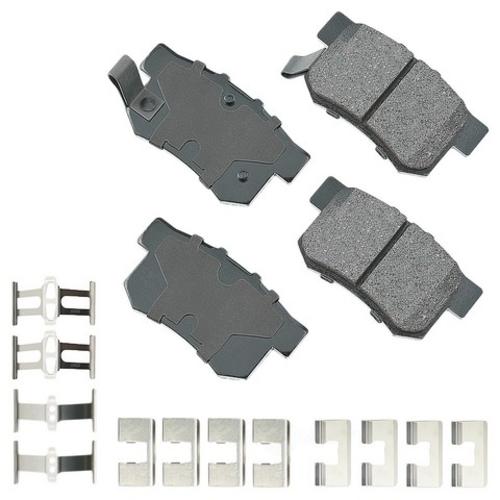 AKEBONO - Performance Ultra Premium Ceramic Pads (Rear) - AKB ASP537A