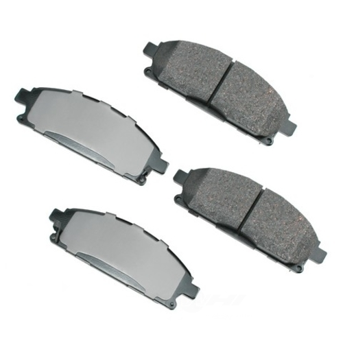 AKEBONO - Performance Ultra Premium Ceramic Pads (Front) - AKB ASP691