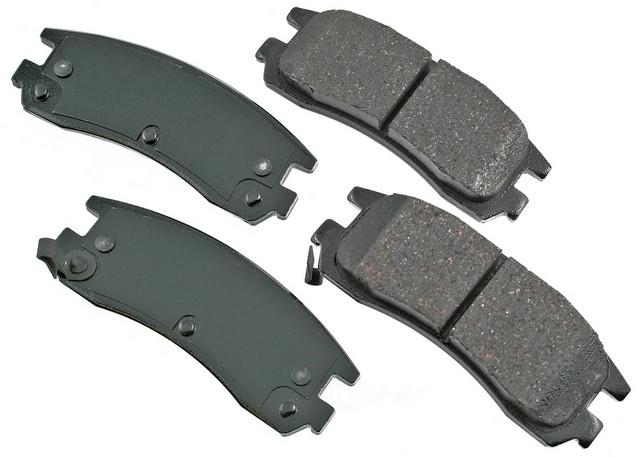 AKEBONO - Performance Ultra Premium Ceramic Pads (Rear) - AKB ASP714