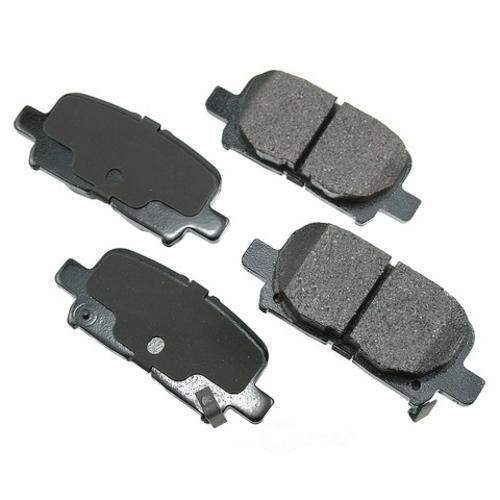 AKEBONO - Performance Ultra Premium Ceramic Pads (Rear) - AKB ASP865