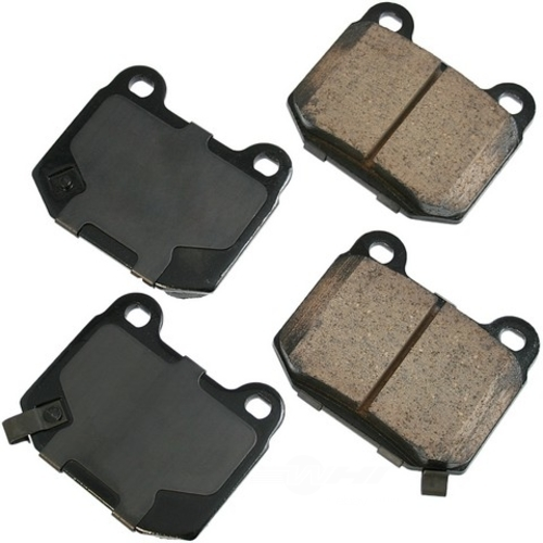 AKEBONO - Performance Ultra Premium Ceramic Pads (Rear) - AKB ASP961