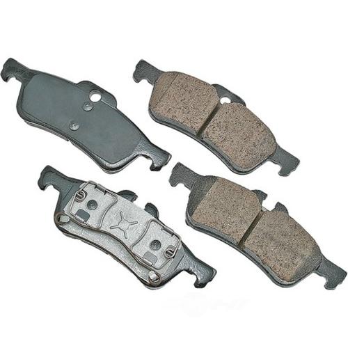 AKEBONO - Euro Ultra Premium Ceramic Pads (Rear) - AKB EUR1060
