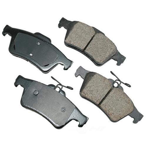 AKEBONO - Euro Ultra Premium Ceramic Pads (Rear) - AKB EUR1095