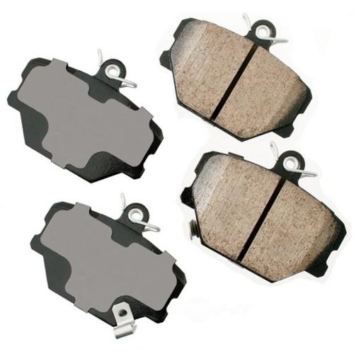AKEBONO - Euro Ultra Premium Ceramic Pads (Front) - AKB EUR1252