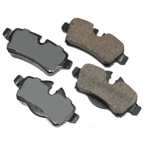 AKEBONO - Euro Ultra Premium Ceramic Pads (Rear) - AKB EUR1309