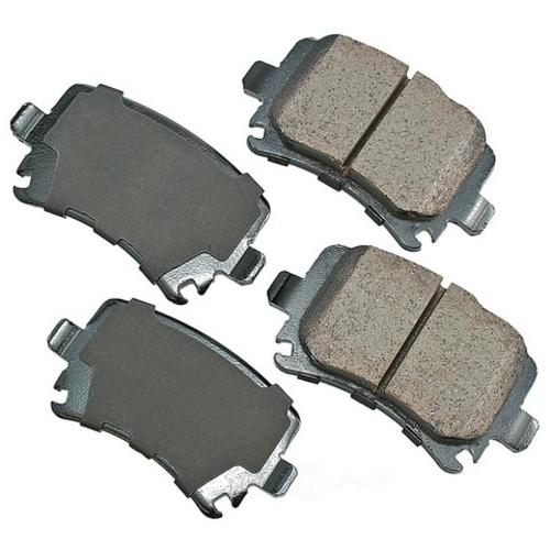 AKEBONO - Euro Ultra Premium Ceramic Pads (Rear) - AKB EUR1348