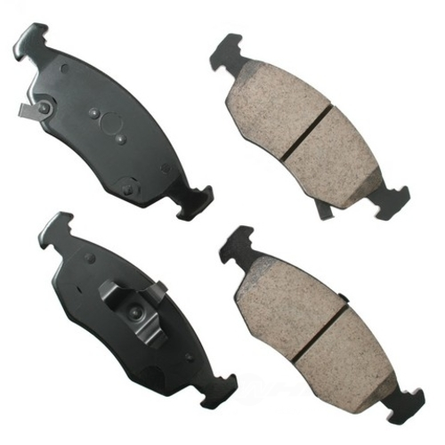 AKEBONO - Euro Ultra Premium Ceramic Pads (Front) - AKB EUR1568