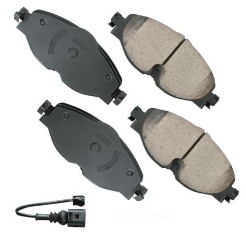 AKEBONO - Euro Ultra Premium Ceramic Pads (Front) - AKB EUR1760