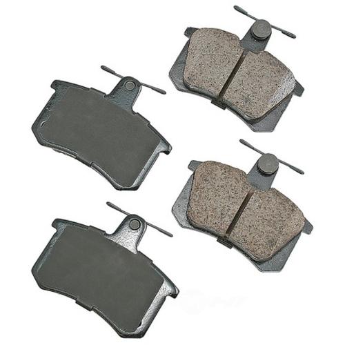 AKEBONO - Euro Ultra Premium Ceramic Pads (Rear) - AKB EUR228