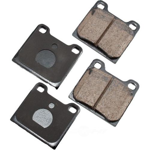 AKEBONO - Euro Ultra Premium Ceramic Pads (Rear) - AKB EUR31