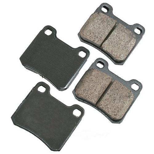 AKEBONO - Euro Ultra Premium Ceramic Pads (Rear) - AKB EUR335