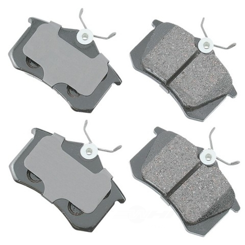AKEBONO - Euro Ultra Premium Ceramic Pads (Rear) - AKB EUR340A