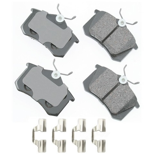 AKEBONO - Euro Ultra Premium Ceramic Pads (Rear) - AKB EUR340B