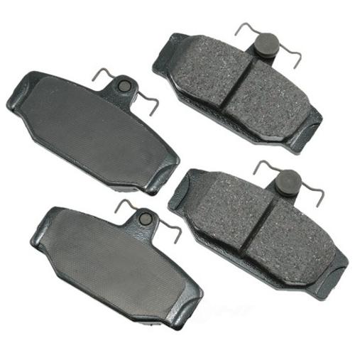 AKEBONO - Euro Ultra Premium Ceramic Pads - AKB EUR391