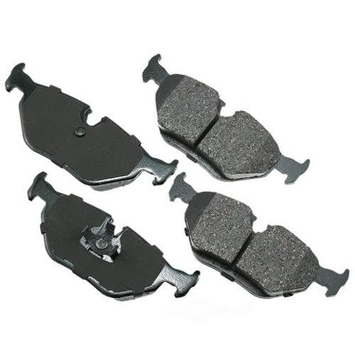 AKEBONO - Euro Ultra Premium Ceramic Pads - AKB EUR396